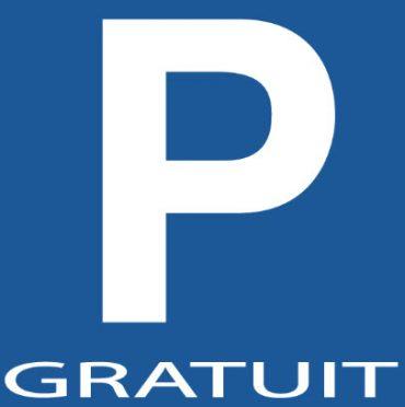 PARKING GRATUIT (1h30)